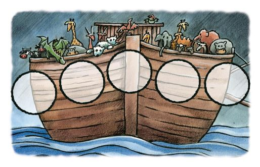 The balance of the Ark.